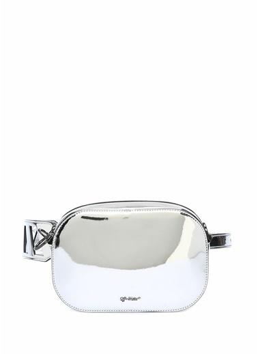 Off-White Çanta Gümüş